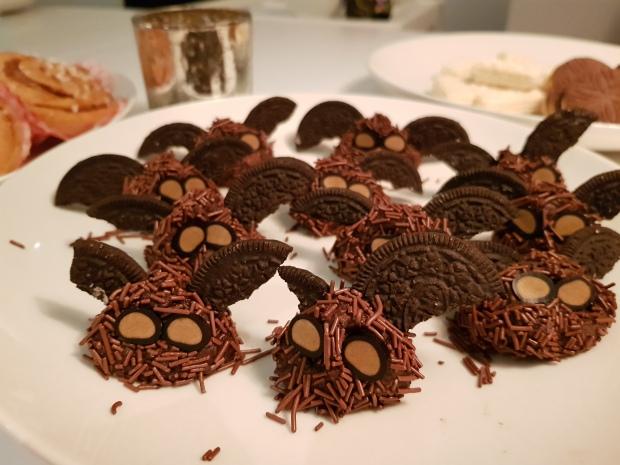 Fladdermöss som chokladbollar
