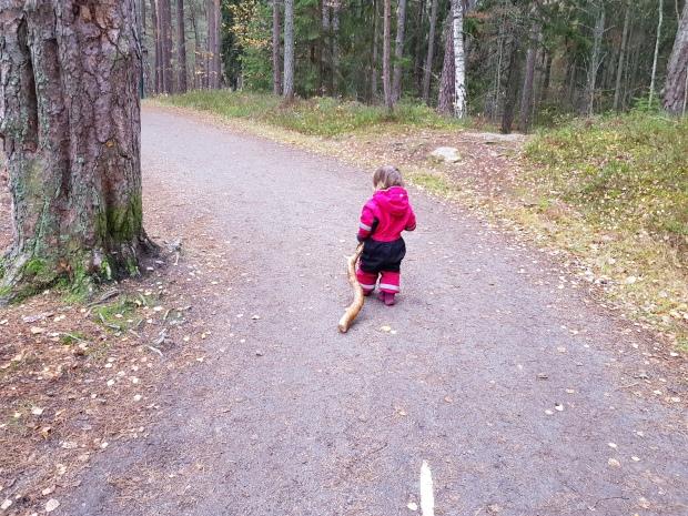 Utflykt till Mariebergsskogen