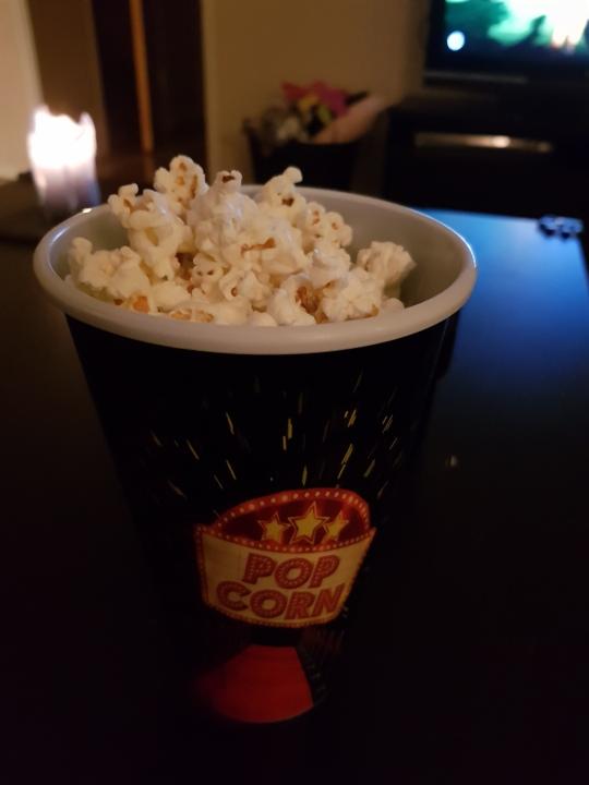 Jag kan inte leva utan popcorn