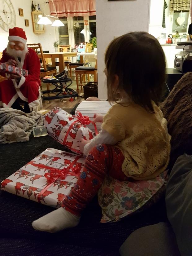 Julfirande med tomte