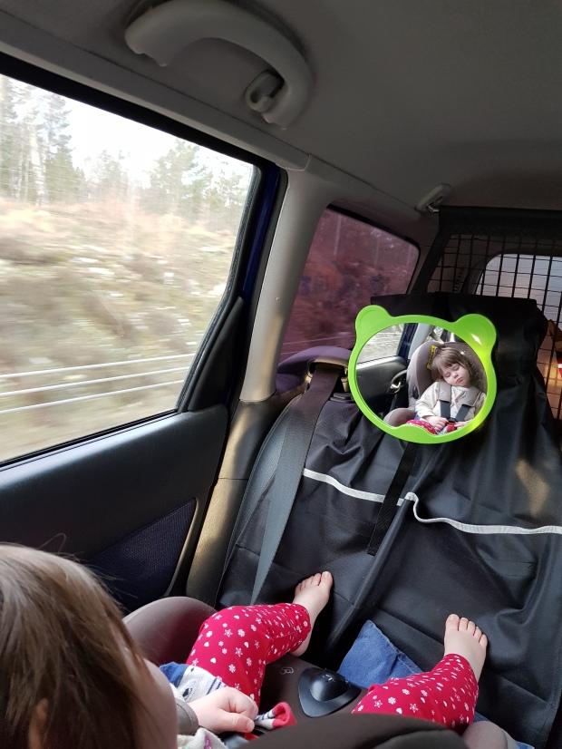 Tupplur i bilen