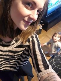 Inga konstigheter att ta bild med barn